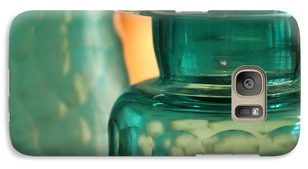 Galaxy Case featuring the photograph Studies In Glass  by Lynn England
