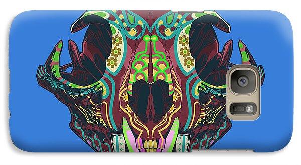 Galaxy Case featuring the digital art Sugar Lynx  by Nelson Dedos Garcia