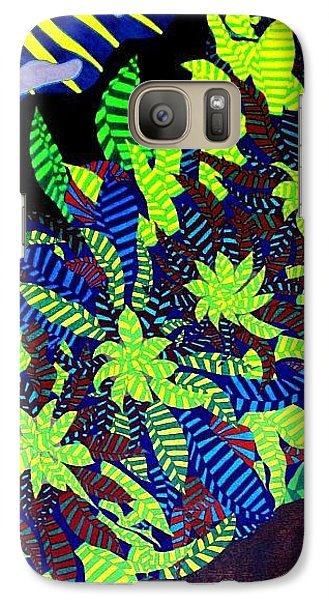 Galaxy Case featuring the painting Summer Bloom by Jonathon Hansen