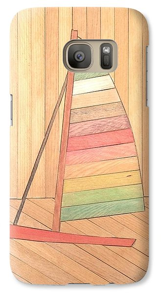 Galaxy Case featuring the painting Sunfish by Stan Tenney