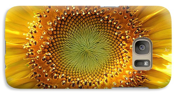 Galaxy Case featuring the photograph Sunflower by Lisa L Silva