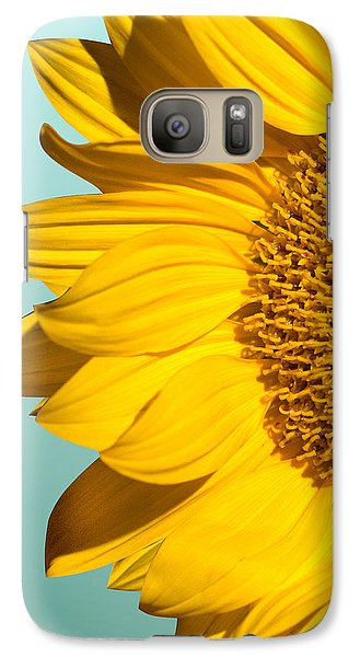 Sunflower Galaxy S7 Case - Sunflower by Mark Ashkenazi
