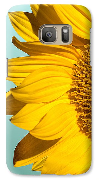 Sunflower Galaxy S7 Case - Sunflower by Mark Ashkenazi