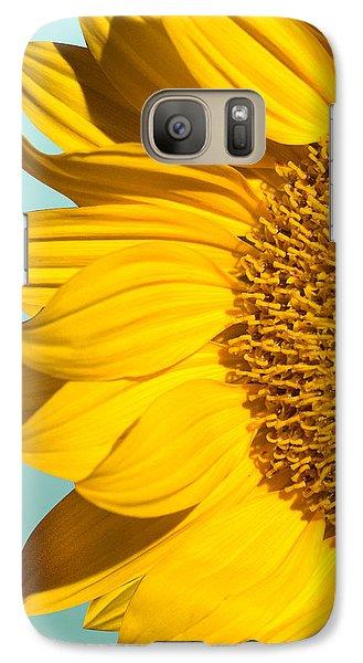Sunflower Galaxy S7 Case by Mark Ashkenazi