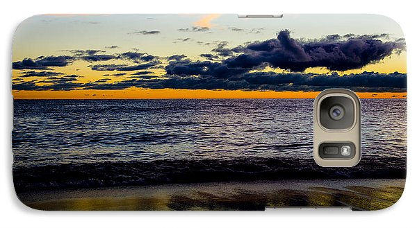 Galaxy Case featuring the photograph Sunrise Lake Michigan September 14th 2013 001 by Michael  Bennett