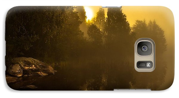 Galaxy Case featuring the photograph Sunrise by Rose-Maries Pictures