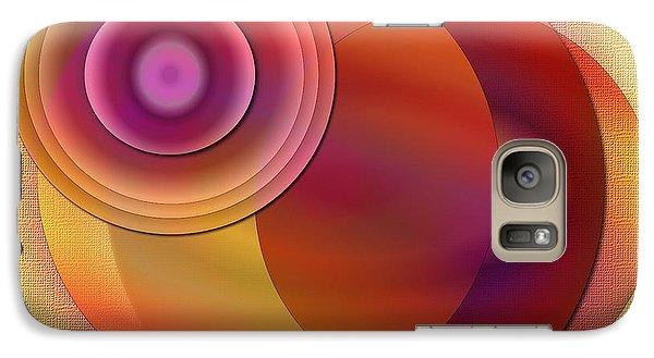 Galaxy Case featuring the digital art Sunsational by Iris Gelbart