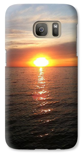 Galaxy Case featuring the photograph Sunset On The Bay by Tiffany Erdman