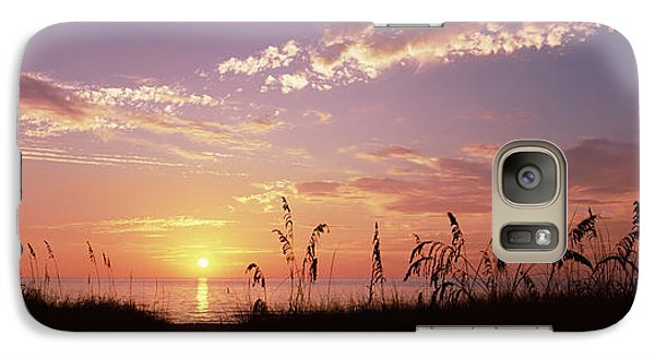 Venice Beach Galaxy S7 Case - Sunset Over The Sea, Venice Beach by Panoramic Images