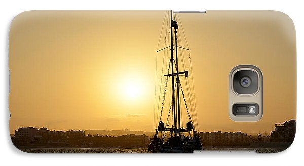 Galaxy Case featuring the photograph Sunset Sailing In Cabo by Christine Till