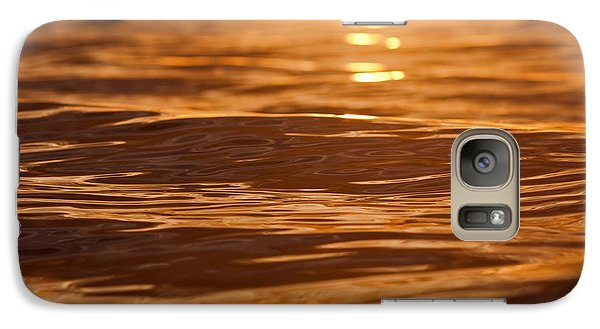 Galaxy Case featuring the photograph Surfers Sunset by Paul Topp