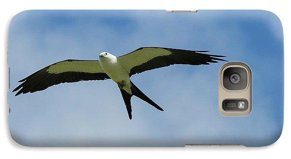 Swallow Galaxy S7 Case - Swallow-tailed Kite In Flight by Maresa Pryor
