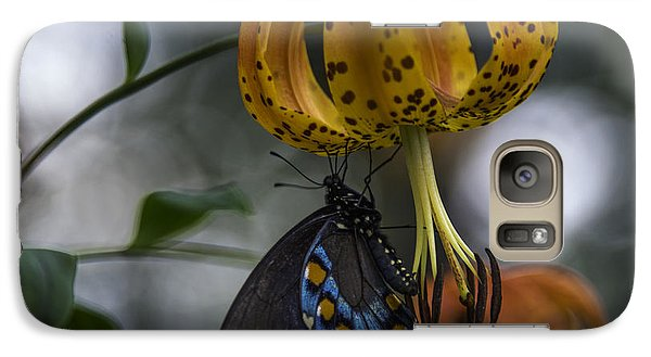 Swallowtail On Turks Cap Galaxy S7 Case