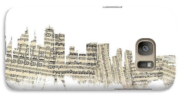 Sydney Australia Skyline Sheet Music Cityscape Galaxy S7 Case