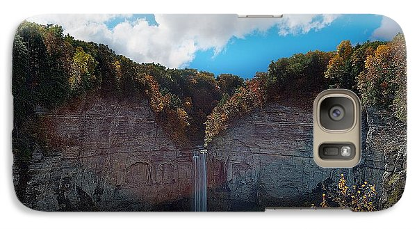 Galaxy Case featuring the photograph Taughannock Falls Ithaca New York by Paul Ge