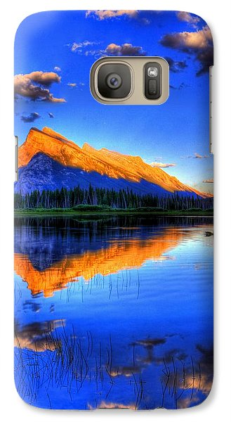 Galaxy Case featuring the photograph Test Again by Test Again