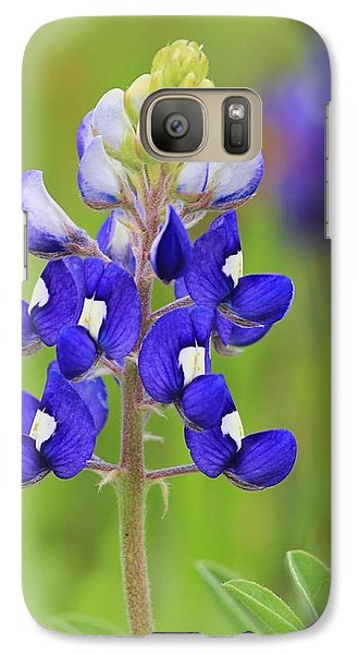 Galaxy Case featuring the photograph Texas Bluebonnet by Elizabeth Budd