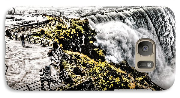 Galaxy Case featuring the photograph The American Falls by Jim Lepard