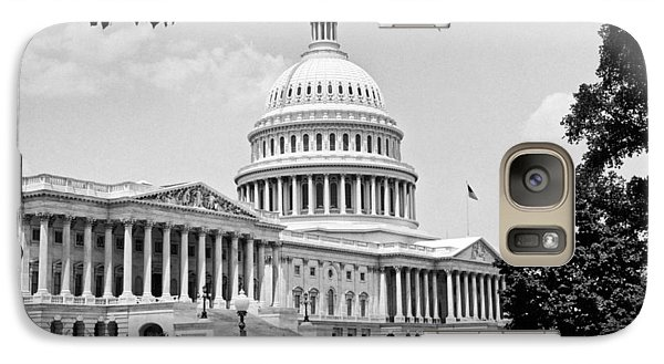 The Capitol Building Galaxy Case by Underwood Archives