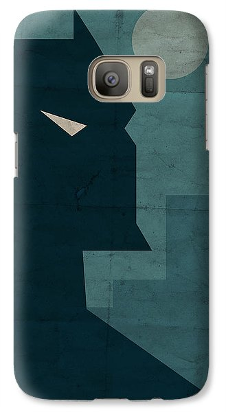 The Dark Knight Galaxy S7 Case by Michael Myers