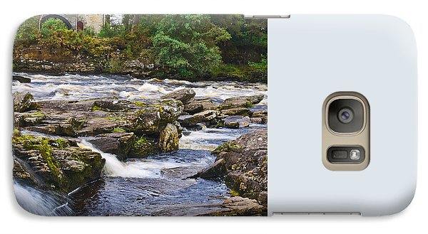 Galaxy Case featuring the photograph The Falls Of Dochart Scotland by Jane McIlroy