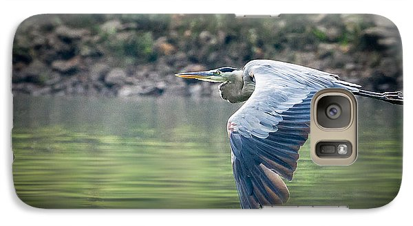 Galaxy Case featuring the photograph The Glide by Annette Hugen