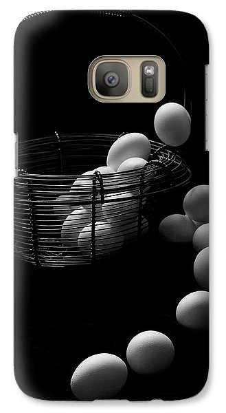 Galaxy Case featuring the photograph The Great Eggscape by Jim Garrison