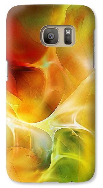 Galaxy Case featuring the digital art The Heart Of The Matter by David Lane