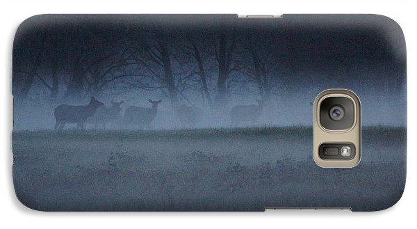 Galaxy Case featuring the photograph The Herd by Angi Parks