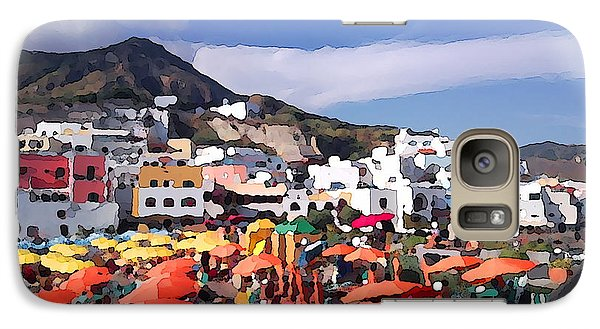 Galaxy Case featuring the photograph The Island Of Ischia Sant'angelo by Ze  Di
