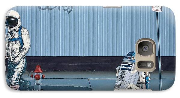 The Parking Ticket Galaxy Case by Scott Listfield