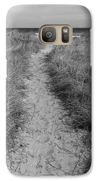 Galaxy Case featuring the photograph The Path by Glenn DiPaola