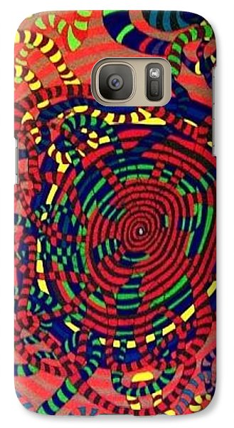 Galaxy Case featuring the painting Polar Shift. by Jonathon Hansen