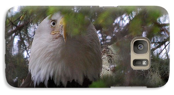 Galaxy Case featuring the photograph The Watcher by Cynthia Lagoudakis
