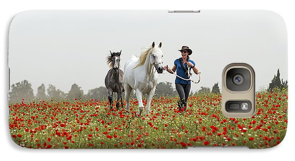 Three At The Poppies' Field... 3 Galaxy S7 Case