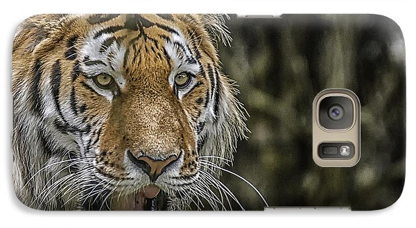 Galaxy Case featuring the photograph Tiger by Chris Boulton