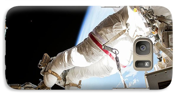 Tim Kopra's Spacewalk Galaxy S7 Case