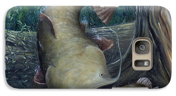 Catfish Galaxy S7 Case - Top Dog by Catfish Lawrence