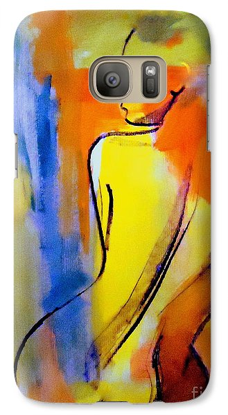 Galaxy Case featuring the painting Tranquility by Helena Wierzbicki