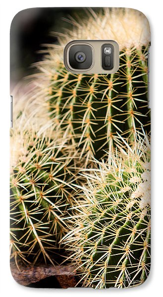 Galaxy Case featuring the photograph Triple Cactus by John Wadleigh
