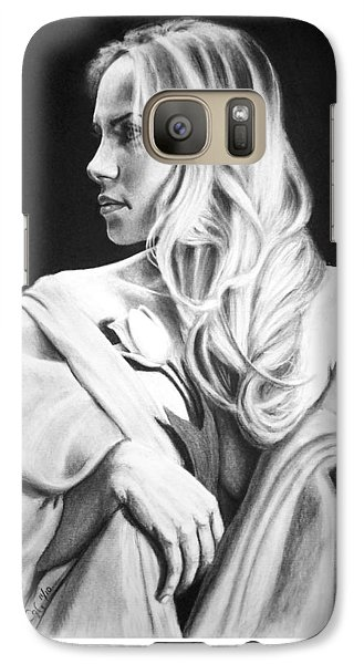Galaxy Case featuring the painting Tulip by Joseph Ogle