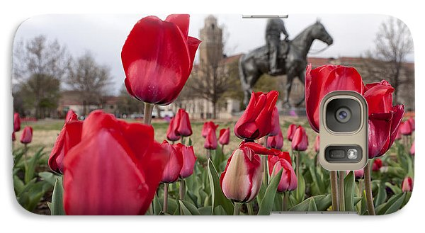 Tulips At Texas Tech University Galaxy S7 Case