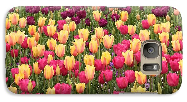 Galaxy Case featuring the photograph Tulips by Elizabeth Budd