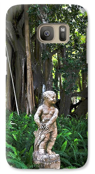 Galaxy Case featuring the photograph Twilight In The Garden by Timothy Lowry