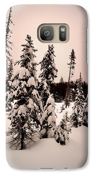 Galaxy Case featuring the photograph Twilightwinter by Guy Hoffman