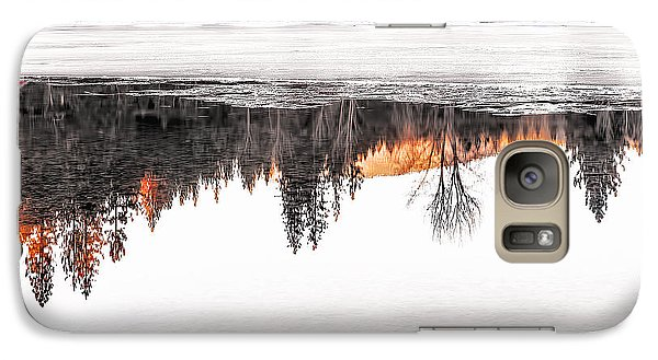 Galaxy Case featuring the photograph Under The Ice by Nancy Marie Ricketts