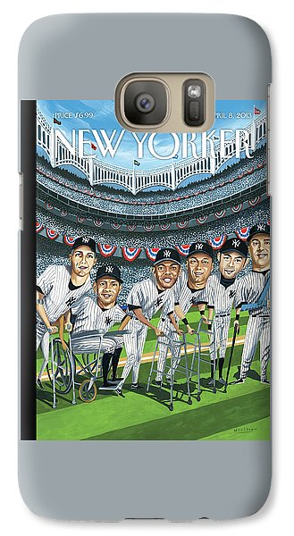 New Yorker April 8th, 2013 Galaxy S7 Case