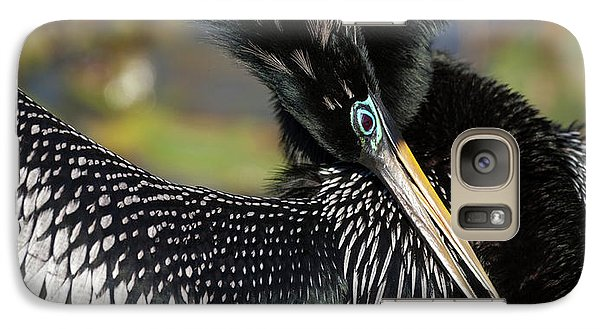 Anhinga Galaxy S7 Case - Usa, Florida, Everglades National Park by Jaynes Gallery