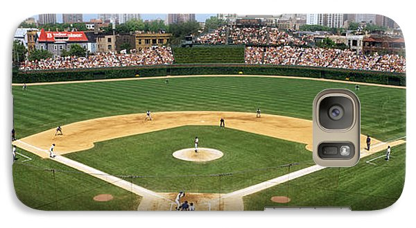 Usa, Illinois, Chicago, Cubs, Baseball Galaxy Case by Panoramic Images