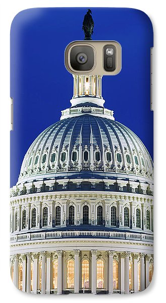 Capitol Building Galaxy S7 Case - Usa, Washington, D by Jaynes Gallery